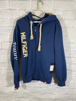 Tommy Hilfiger Flag Spellout sweater jacket