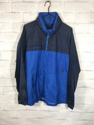 Columbia Sportswear fullzip Windbreaker SZ mens Medium
