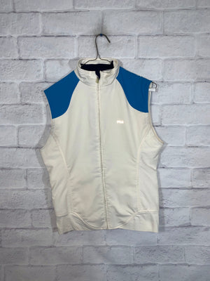 Fila Fullzip light vest SZ womens medium