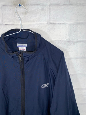 Blue Reebok Full Zip Light Jacket