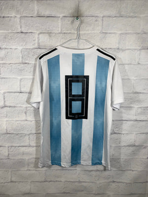 Blue Argentina Graphic Sports Jersey