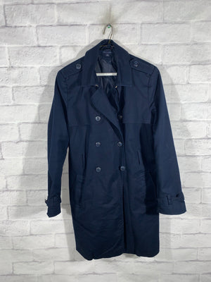 Blue Tommy Hilfiger Full Button Jacket