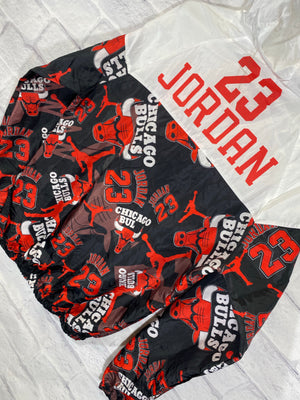 Jordan 23 Chicago Bulls fullzip windbreaker jacket