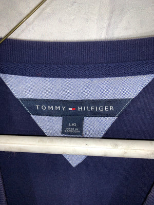 Tommy Hilfiger dark blue sweater SZ mens Large