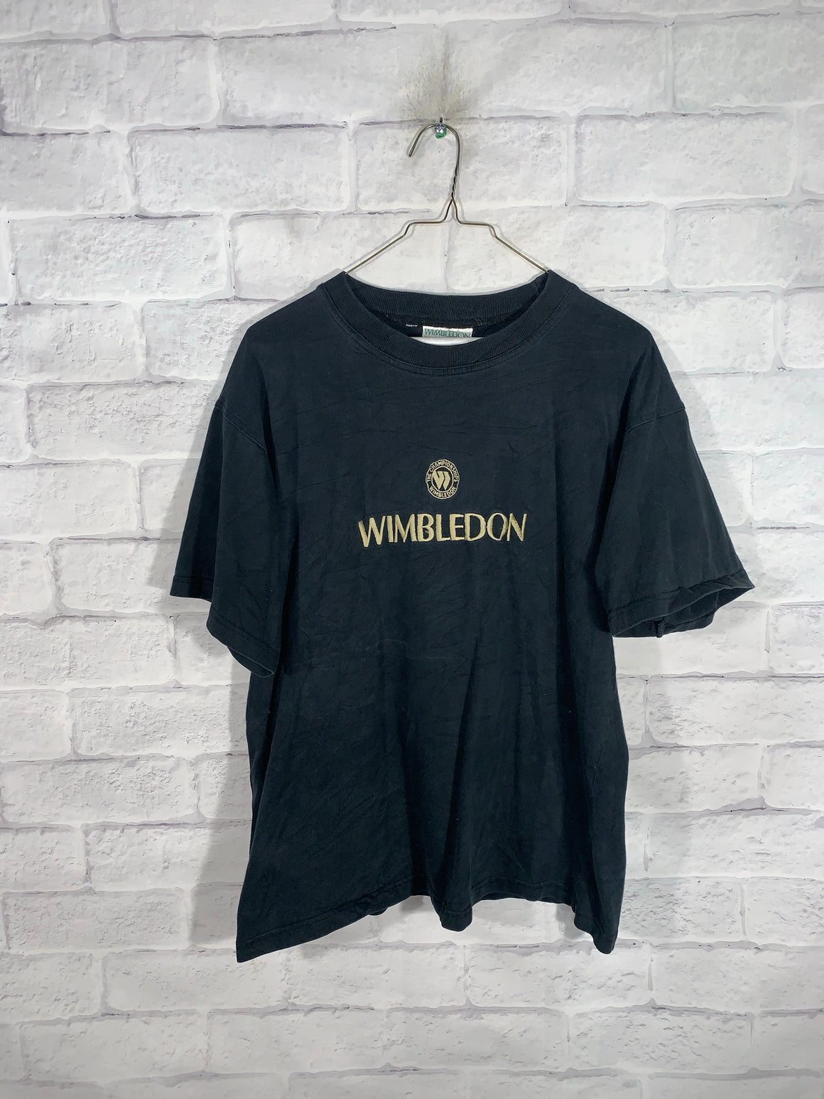 Rare Black Wimbledon Graphic T-Shirt