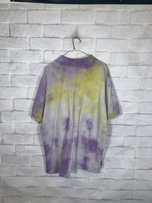 Polo jeans co tye dye collar shirt SZ mens Large