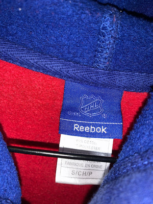 Red/Blue Reebok NHL Montreal Canadiens Full Zip Light Jacket