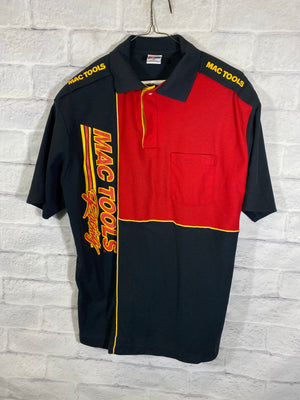 Mac Tools racing collar shirt