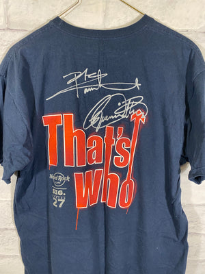 The Who Hard Rock Double graphic tshirt
