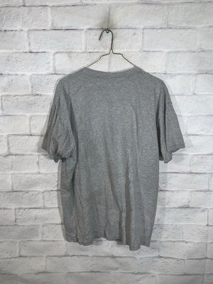 Grey World Soccer Graphic T-Shirt