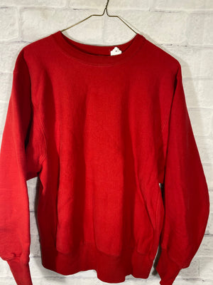 Champion Reverse weave crewneck sweater SZ womens Large