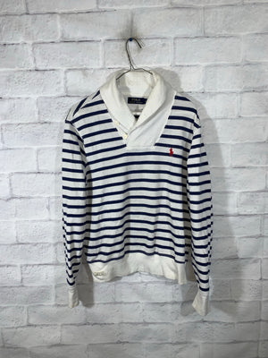 Blue/White Polo Ralph Lauren Longsleeve Sweater