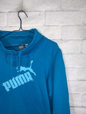 Puma logo sweater SZ kids XL womens small