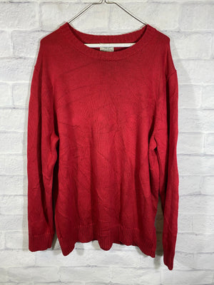 L.L Bean cotton knitted sweater SZ mens XL