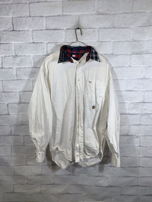 Tommy Hilfiger 90's tag button down shirt SZ mens Large