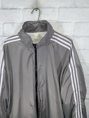 Grey NotAdidas Full Zip Light Jacket
