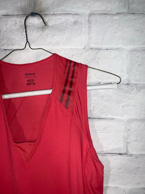 Red Reebok Sports Tank Top