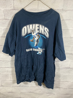 Blue Dallas Cowboys Terrell Owens Graphic T-Shirt