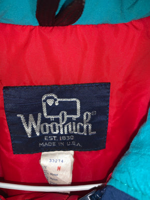 Vintage Teal Woolrich Full Zip Jacket