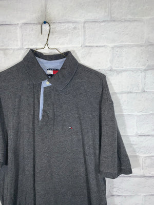 Vintage Tommy Hilfiger Quarter Button Golf Shirt