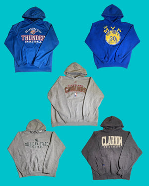 Sports and College Mixed Vintage Package 1 - 10 Pieces