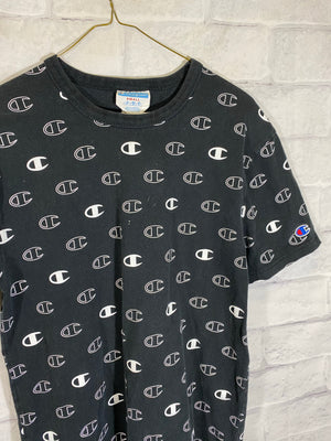 Champion print al over tshirt