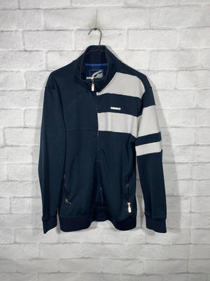 Blue/White Ecko Full Zip Light Jacket