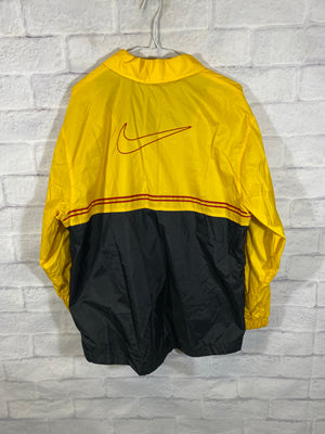 Nike Big check windbreaker jacket (wrist hole)