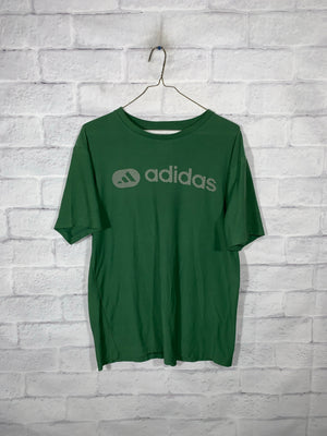 Green Adidas Graphic T-Shirt