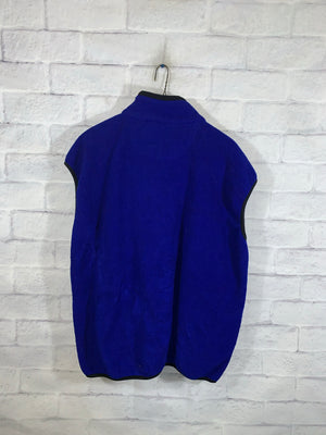 Vintage Blue Champion Full Zip Vest