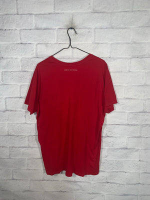 Red Armani Exchange Graphic T-Shirt