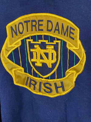 Blue Midwest Notre Dame Irish Longsleeve Sweater