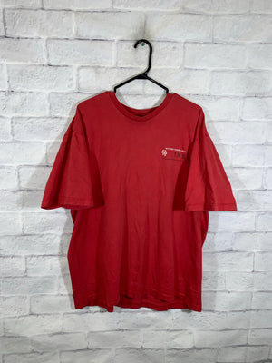 Red Tommy Hilfiger Jeans Graphic T-Shirt