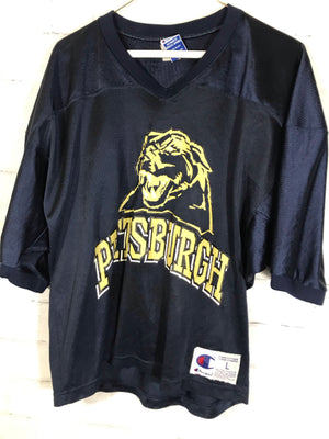 Champion Pittsburgh foootball jersey SZ womens Large
