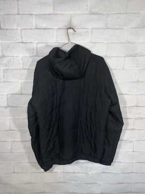 Vintage Black Umbro Full Zip Puffer Jacket