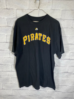 Majestic Pittsburgh Pirates tshirt SZ mens XL