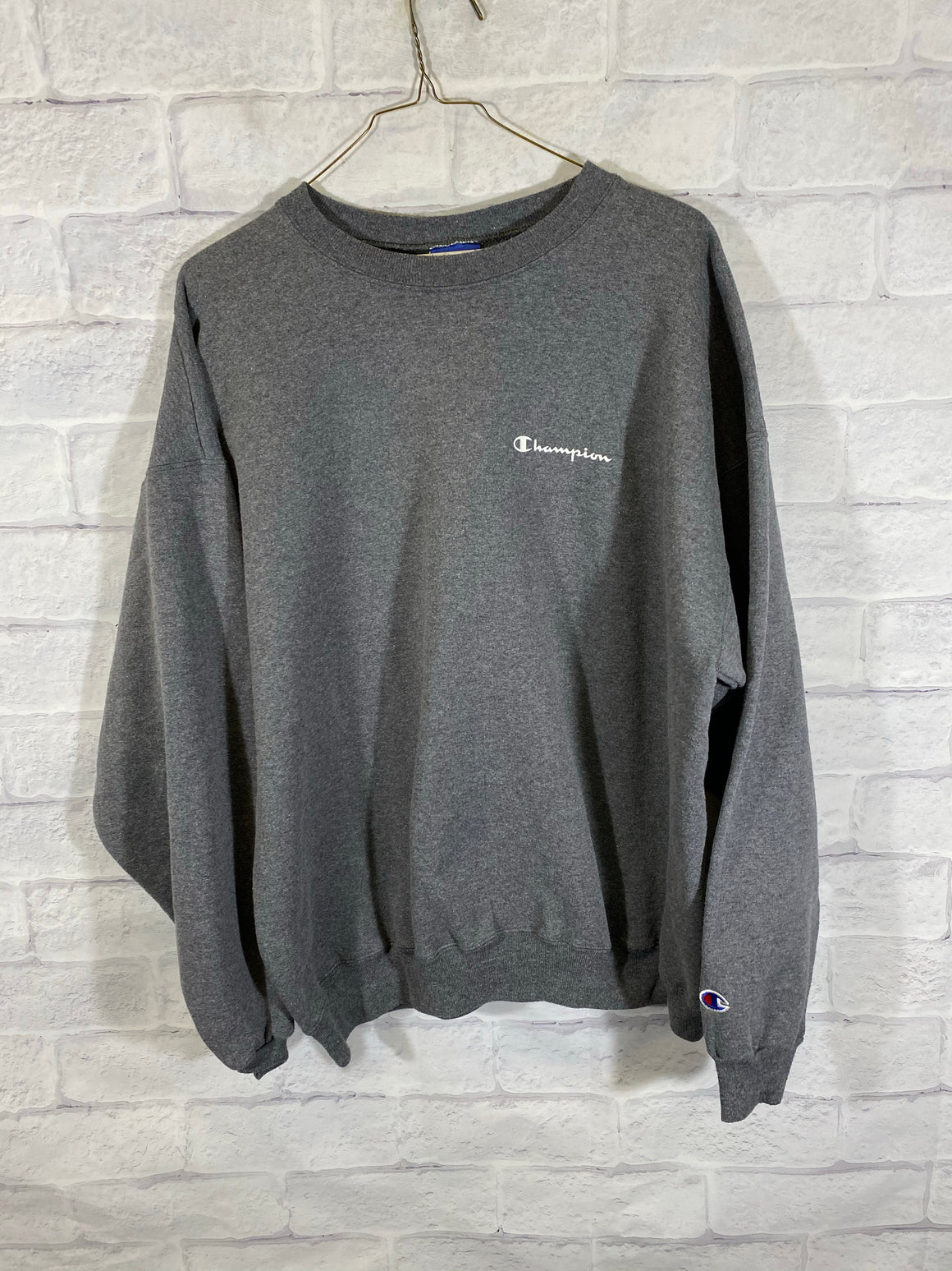 Champion grey cruenck sweater