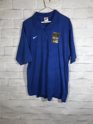 Nike 90's tag collar shirt SZ mens Large