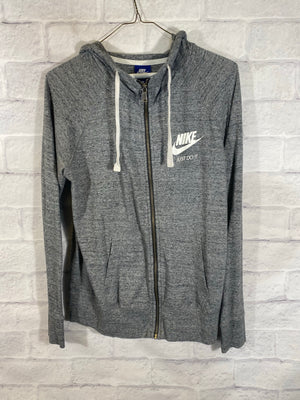 Nike sweater track jacket SZ womens medium