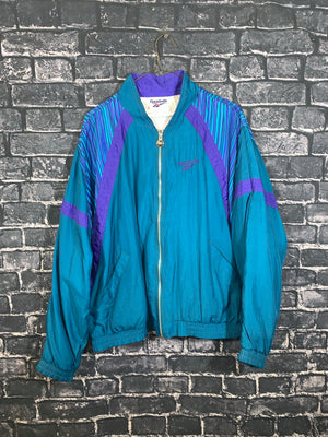 Teal Reebok Full Zip Light Jacket
