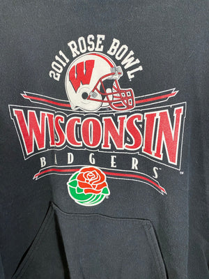 Wisconsin unviersity 2011 rose bowl sweater