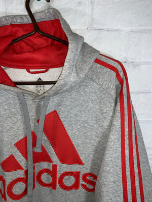 Grey Adidas Longsleeve Sweater