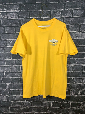 Yellow Briggs & Stratton Racing Graphic T-Shirt