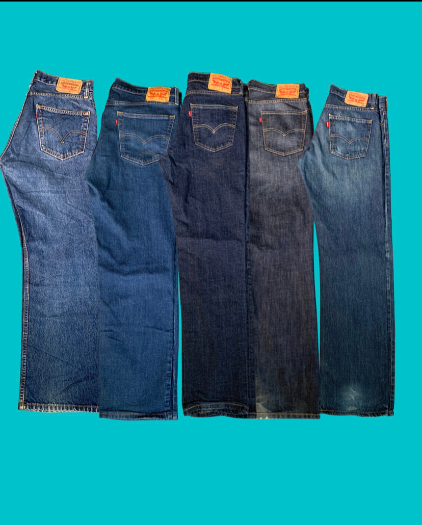 Vintage Levi's Denim Package - 10 Pieces