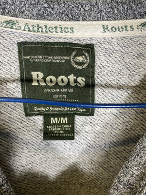 Roots crewneck sweater womens medium