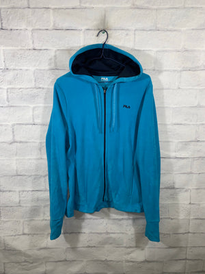 Blue FILA Full Zip Light Jacket