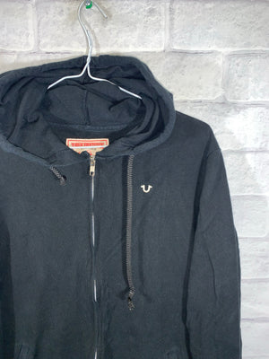 Black NotTrue Religion Full Zip Light Jacket