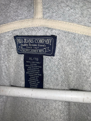 Grey Ralph Lauren Polo Jeans Full Zip Light Jacket