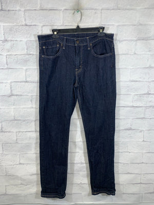 Navy Blue Levi's Strauss Denim Pants