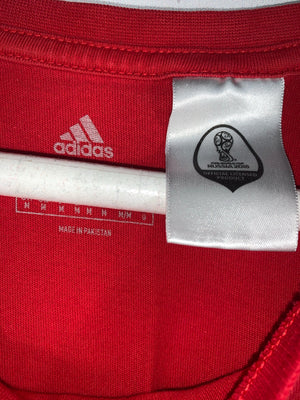 Red Adidas Portugal Graphic T-Shirt